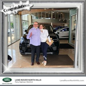 Barry W at Land Rover North Hills