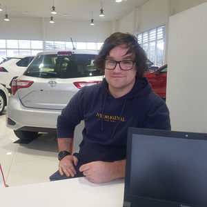 brent h at Mornington Toyota