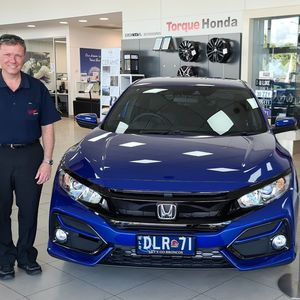Darren R at Torque Honda