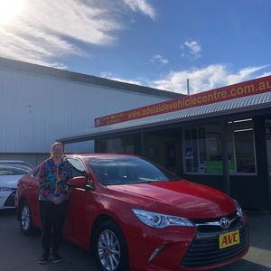 Faye at Adelaide Vehicle Centre