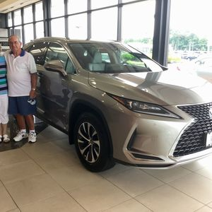 Mary & Mike Clopper at Bobby Rahal Lexus