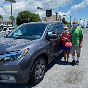 Marty and Cathy Boltz at Ebersole Honda