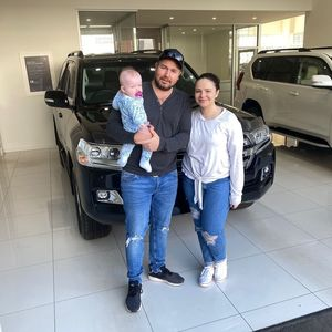 Dan & Em at Mornington Toyota