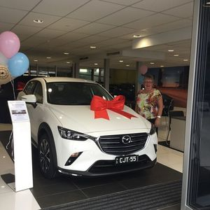 Christine T at Grand Prix Mazda Aspley