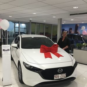 Therese C at Grand Prix Mazda Aspley