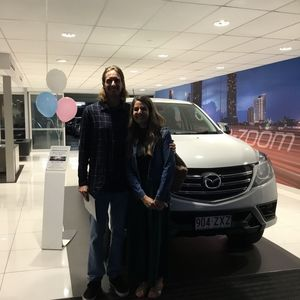 Marcus C & Amy W at Grand Prix Mazda Aspley