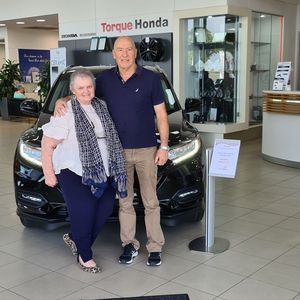 Cheryl & Peter H at Torque Honda