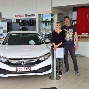Jo & Paul  at Torque Honda