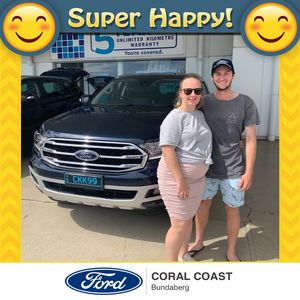 Hayden & Chelsea at Coral Coast Ford