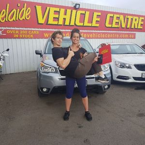 Lewis W at Adelaide Vehicle Centre