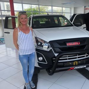 Melanie s at Thorp Isuzu Plumstead