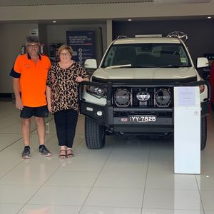 Andrew & Angela G at Northpoint Toyota Port Augusta