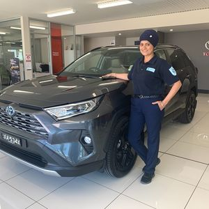 Karam kaur at Northpoint Toyota Port Augusta