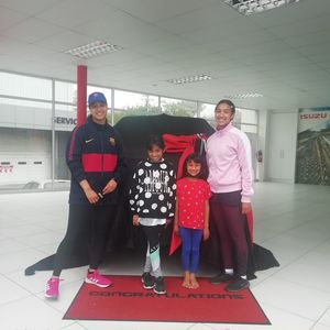Razia Amlay at Thorp Isuzu Plumstead