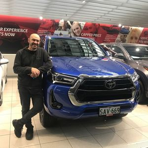Alex S at CMI Toyota Adelaide