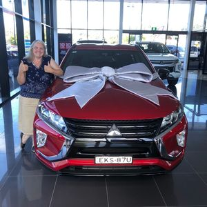 Kerryn L at Geoff King Mitsubishi