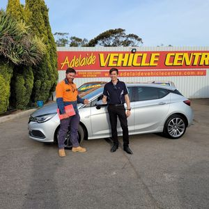 Jye D at Adelaide Vehicle Centre