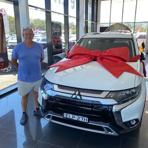 Mark at Geoff King Mitsubishi