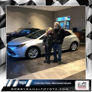 Monica S at Bobby Rahal Toyota