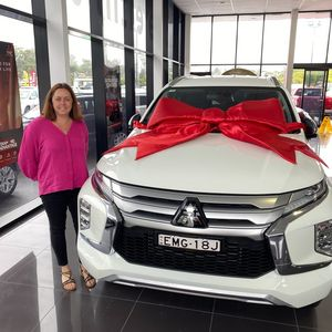 Tracey at Geoff King Mitsubishi