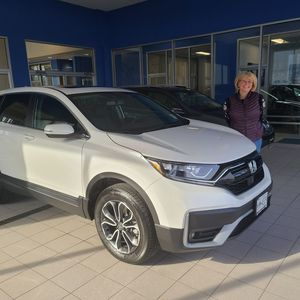 Nathalie F at Williams Honda