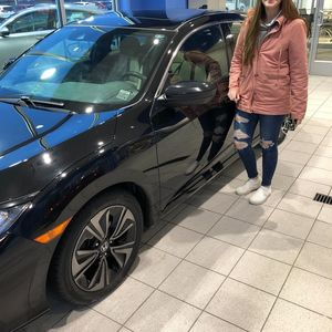 Shania V at Williams Honda