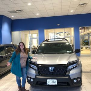 Ellen V at Williams Honda