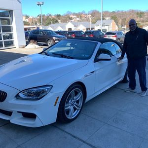 Aaron R at Bobby Rahal BMW of South Hills