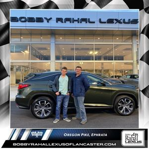Andy P at Bobby Rahal Lexus of Lancaster County
